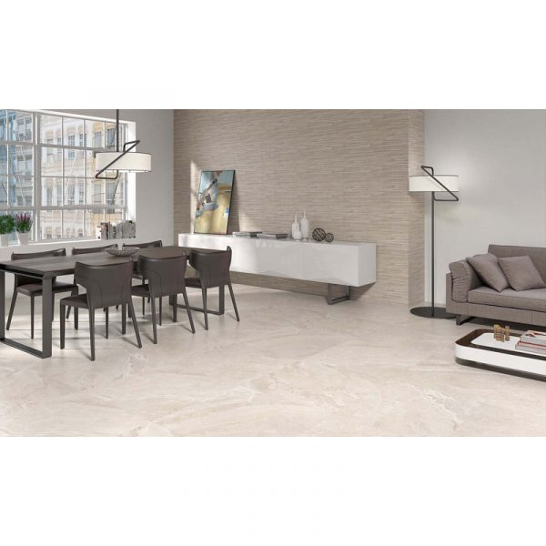 Total Tile and Bathrooms | Alabama Beige Tile | Roomset | Crewe | Cheshire