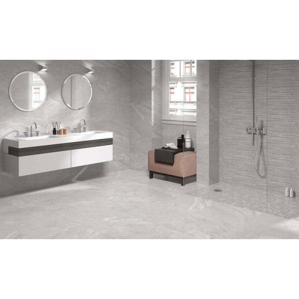 Total Tile and Bathrooms | Alabama Perla Tile | Roomset 2 | Crewe | Cheshire