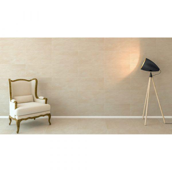 Total Tile and Bathrooms | Armani Crema | Roomset