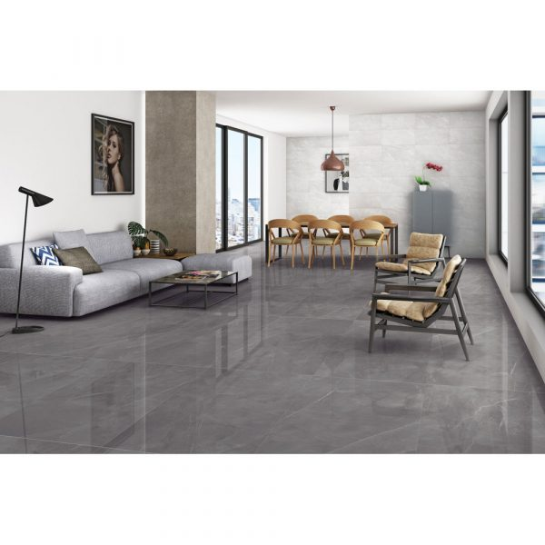 Total Tile and Bathrooms | Armani Gris | Roomset