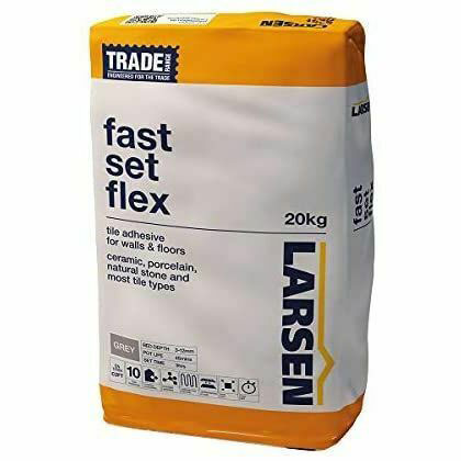 Total Tile and Bathrooms   Adhesive   TRADE Fast Set Flex
