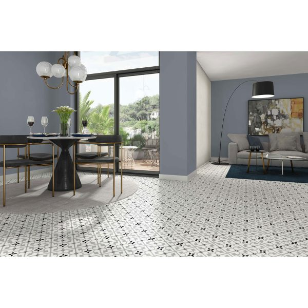 Total Tile and Bathrooms | Crewe | Cheshire | Brighton Grey Tile | Roomset