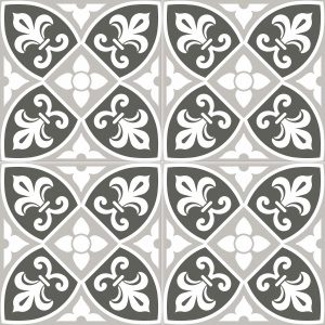 Total Tile and Bathrooms | Crewe | Cheshire | Bristol Pattern Grey Tile | 45x45