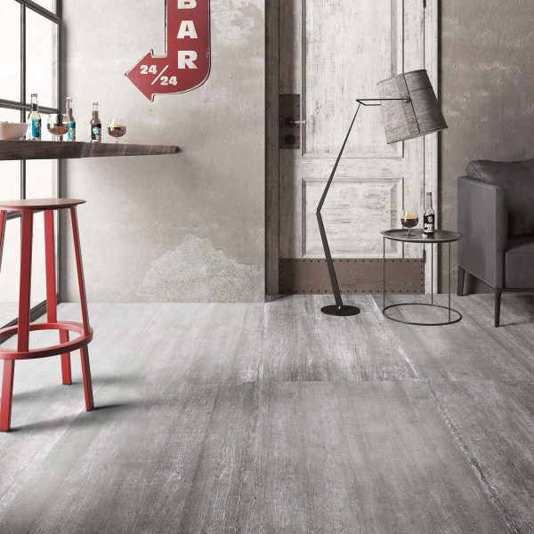 Total Tile and Bathrooms | Crewe | Cheshire | Cemento Rustico | Dark Grey | Roomset
