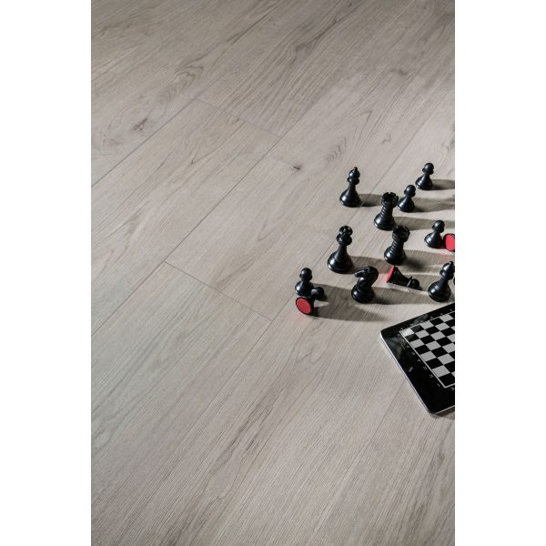 Total Tile and Bathrooms | Eternalwood Gris 20 x 120cm | Floor Tile | Roomset