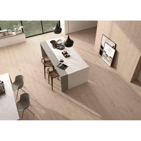 Total Tile and Bathrooms | Eternalwood Roble 20 x 120cm | Floor Tile | Roomset