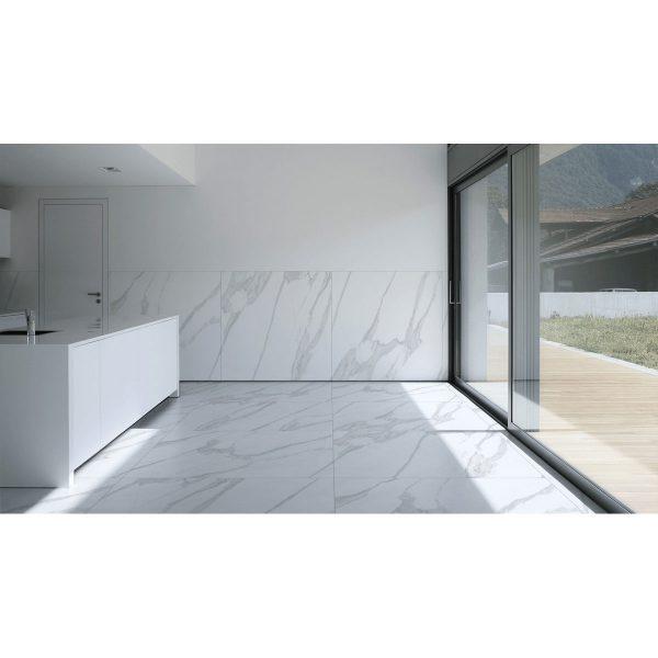 Total Tile and Bathrooms | Crewe | Cheshire | Grande Statuario | Roomset