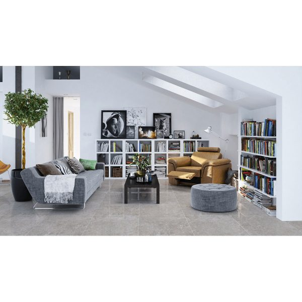 Total Tile and Bathrooms | Crewe | Cheshire | Hampton Grey Tile | Roomset