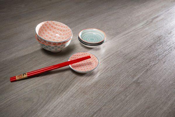 Total Tile and Bathrooms | Hardwood Gris 20 x 120cm | Wood Effect Floor Tile | Roomset