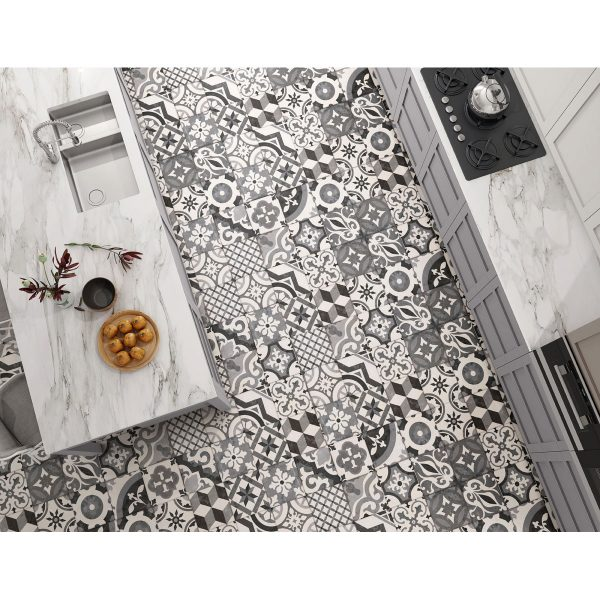 Total Tile and Bathrooms | Crewe | Cheshire | Salisbury Gris Tile | Roomset